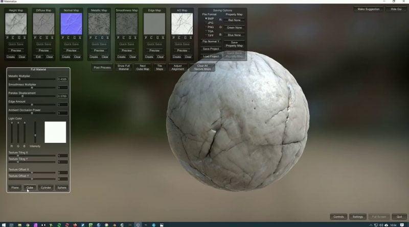 PBR Spieletexturen erstellen, unity, Unrealengine und CO mit Gimp und Materialize - Tutorial