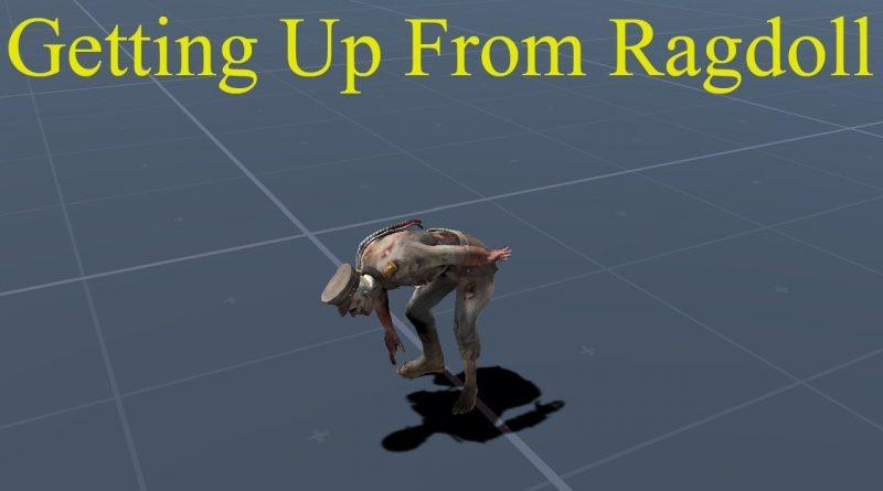 Getting Up from Ragdoll in Unity #gamedev #unity #madewithunity