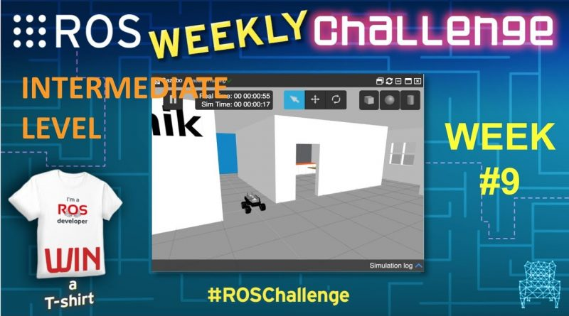 Solving the ROS Mini Challenge #9