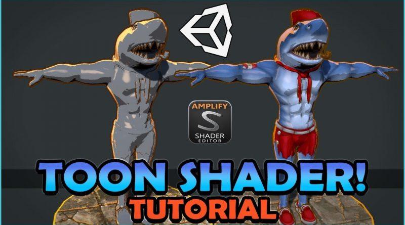 Unity Toon Shader / Cel Shaded Tutorial with Amplify Shader Editor