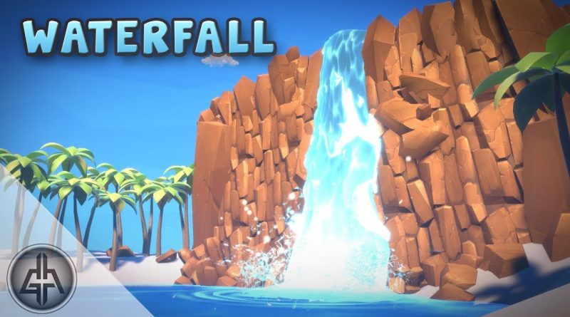 Unity Shader Graph - Waterfall Effect Tutorial