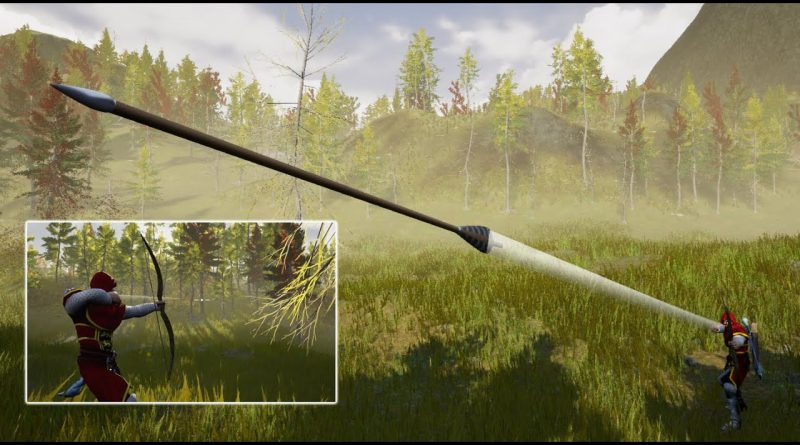 Unreal Bow and Arrow - Arrow Trail- UE4 Tutorials #180