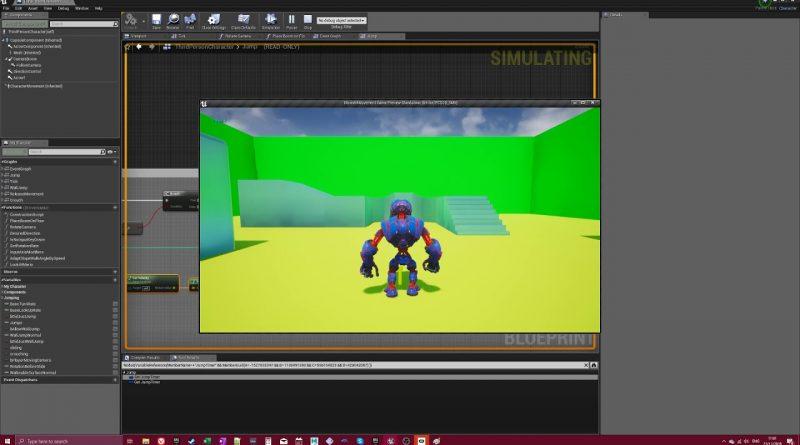 Mario 64 controls in Unreal Engine 4 Tutorial (Part 2)