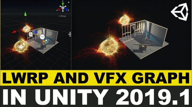 Unity3d LWRP and VFX Graph for mobile games seeking high performance and beautiful graphics