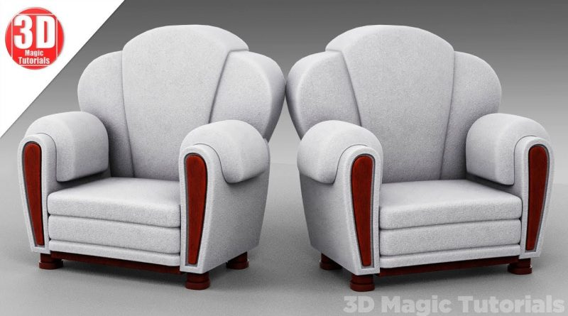 Blender Tutorial - How to model a chair