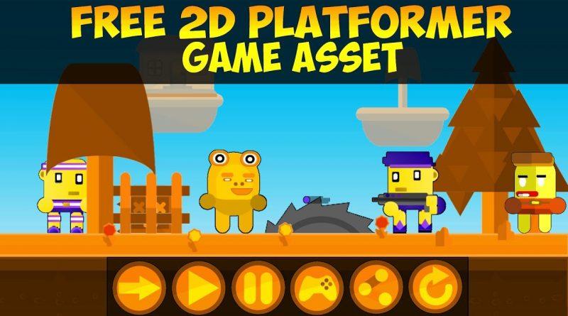 Free 2D Platformer Game Assets