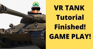 VR TankFinal Gameplay Oculus Quest & Unity. Full beginner tutorial in description!