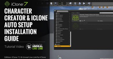 Unreal Live Link Plug-in Tutorial - Installation Step 3: Auto Setup for Character Creator & iClone