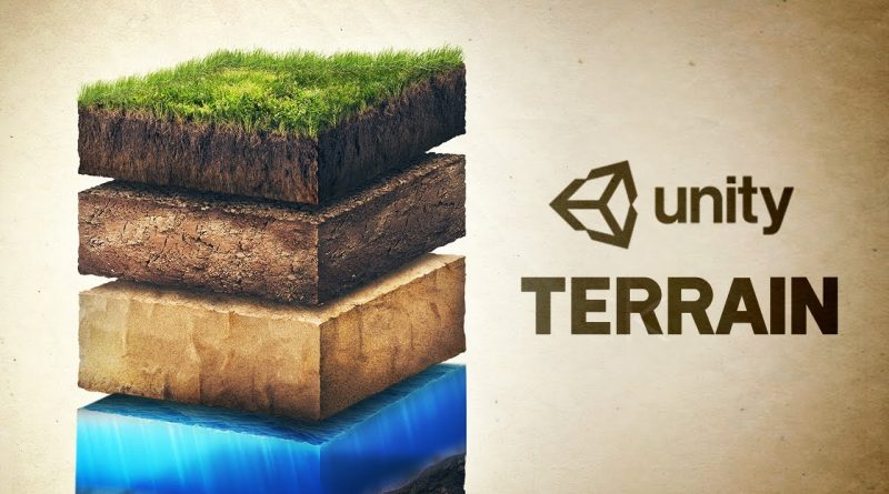 How to make Terrain in Unity!