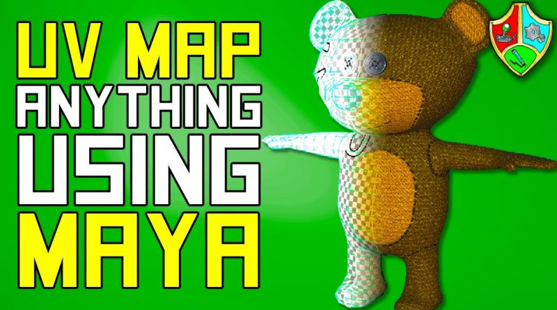 How to UV MAP ANYTHING in MAYA | Maya UV Mapping Tutorial