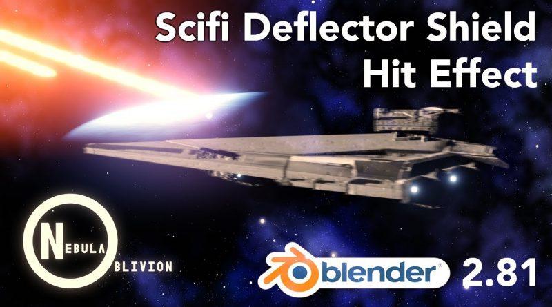 Dynamic Shield Effect Tutorial (Blender 2.81)