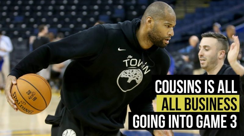 NBA Finals: Cousins all business going into Game 3