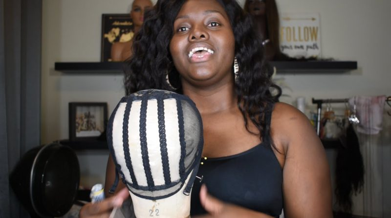 Very Detailed Ventilated Mesh Dome Wig Cap Tutorial + Measurements & Marking   QB Wig Collections
