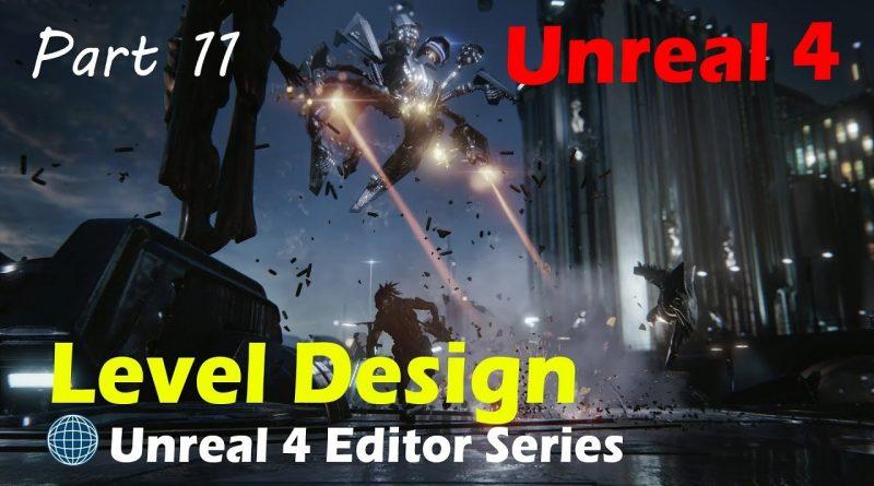 Unreal 4 - Score System/Line Trace/Destructible Target Pt2
