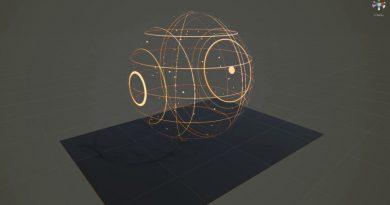 Unity Pure Math Wireframe shader#2