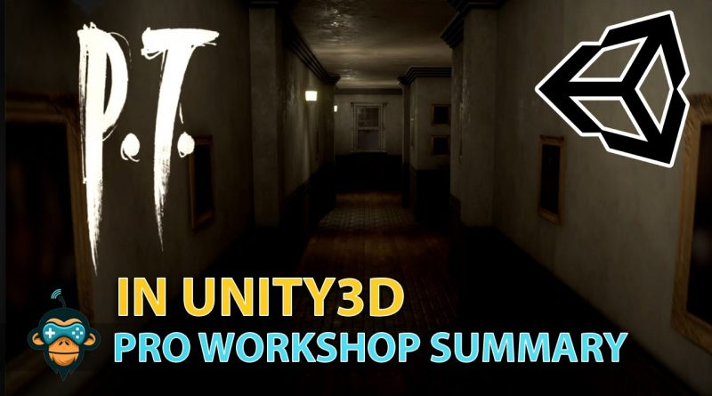 PT Hallway in Unity3D - Summary of the Level Design Pro Workshop using GDHQ Filebase