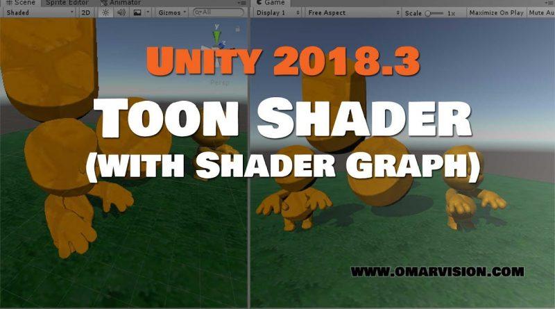 Unity 2018.3 Shader Graph Toon Shader