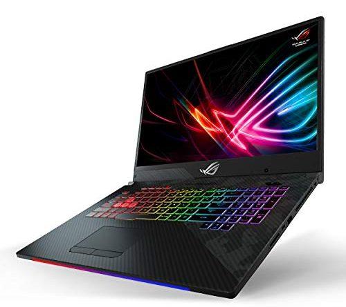 "Asus ROG Strix Scar II Gaming Laptop, 17"" 144Hz IPS-Type Full HD, NVIDIA GeForce RTX 2060 6GB, Intel Core i7-8750H, 16GB DDR4 RAM, 512GB PCIe SSD, RGB KB, Windows 10 - GL704GV-DS74"