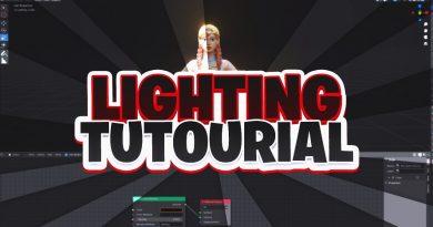 How to get BETTER Lighting for Fortnite Thumbnails Tutorial! (EASY) - Blender Tutorial