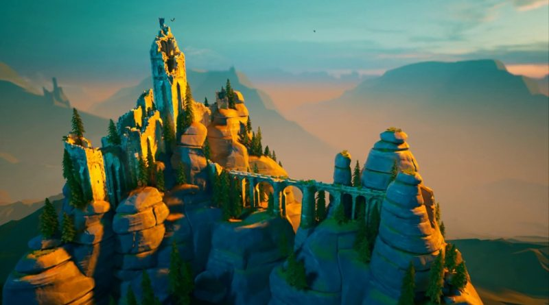 Bastei - Stylized Environment - Gnomon Workshop - Unreal 4