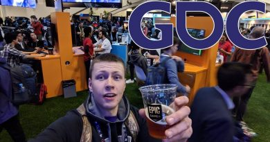 GDC 2019 Day 2 - Thank You Epic Games! - Game Development VLOG