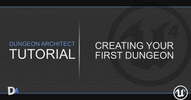 Tutorial 01 - Create your first Dungeon [Dungeon Architect UE4]