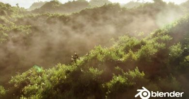 Create a Realistic Forest in 30 Minutes   Blender 2.8 Tutorial