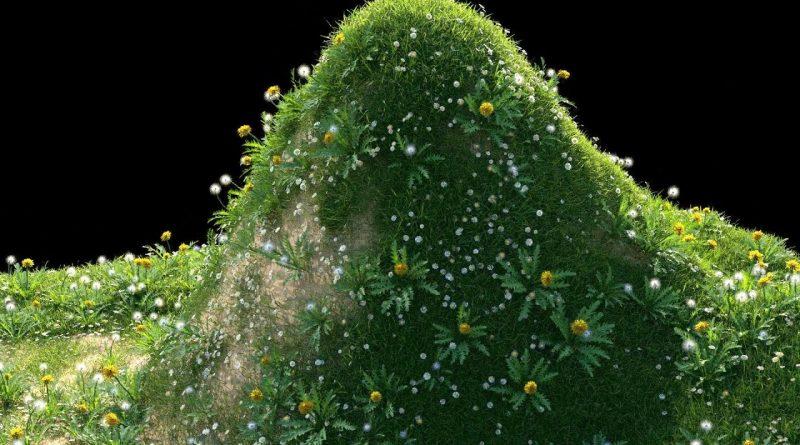 Create Grass Fast Blender Tutorial