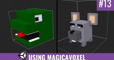 #13 Using MagicaVoxel - Unity Tutorial - Devlog