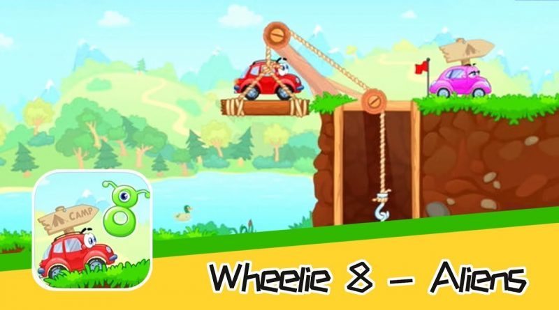 Wheelie 8 - Aliens - SMART MEDIA INTERNET MARKETING LTD - Walkthrough   Super Adorable Game