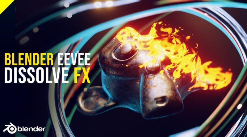 Procedural Disintegrating Effect in EEVEE | Blender 2.8 FX Tutorial