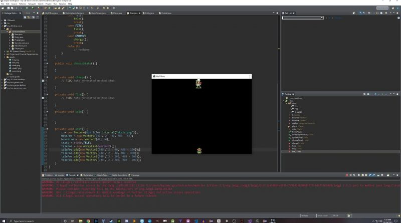 Let's code Zelda-like Boss AI in one video with Java and LibGdx.