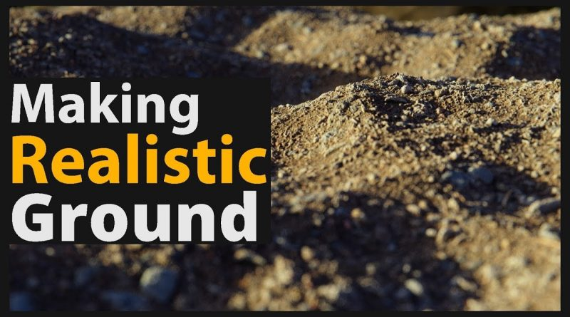 Blender 2.8 Tutorial: How to make Realistic Ground