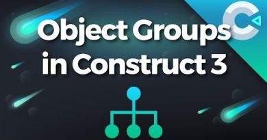 Construct 3 Tutorial : How To Group Objects With ProUI