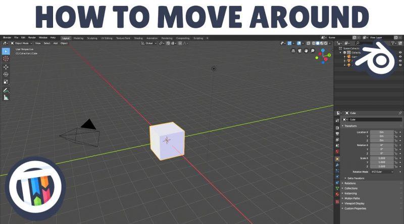 [TUTORIAL] Blender 2.8 Eevee 101 Beginners Guide - How to move / navigate around your scene