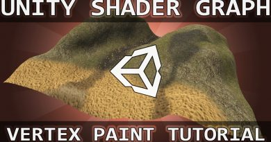Unity Shader Graph: Vertex Painting Shader!
