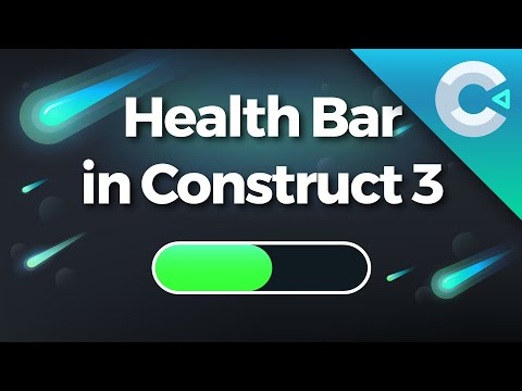 Construct 3 Tutorial : How To Make A Health Bar With ProUI