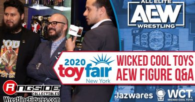 AEW FIGURE Q&A w/ Magic Olmos and Greg Mitchell Wicked Cool Toys - New York Toy Fair 2020 NYTF