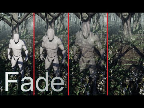 Unreal Engine 4 - Fading The Player (based on camera)