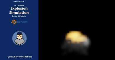 Let's Animate: Explosion Simulation  | Blender 2.8 Tutorial (Eevee)