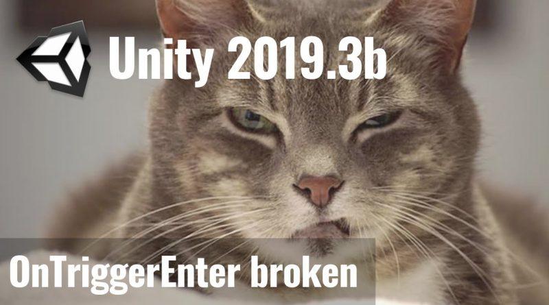My Problem with Unity 2019.3 Beta | GameDev