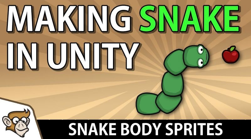 Making Snake in Unity: Snake Body Sprites (Unity Tutorial for Beginners)