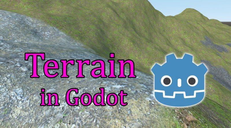 Terrain in Godot 3.1 - Tutorial