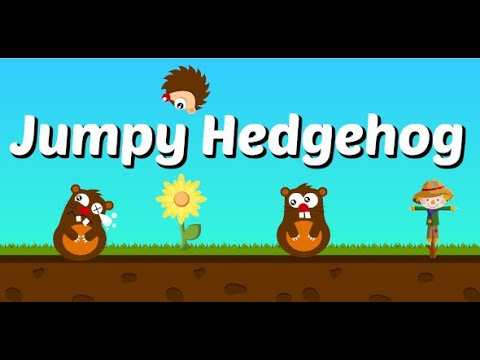 Jumpy Hedgehog - Construct 3 Game