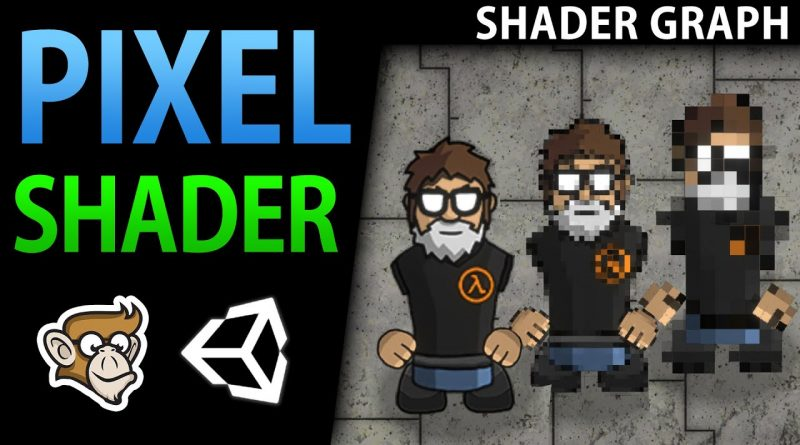 Pixelate Effect - Shader Graph Tutorial