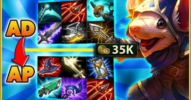 THE 35,000 GOLD BUILD THAT WON ME THE GAME - BunnyFuFuu   League of Legends