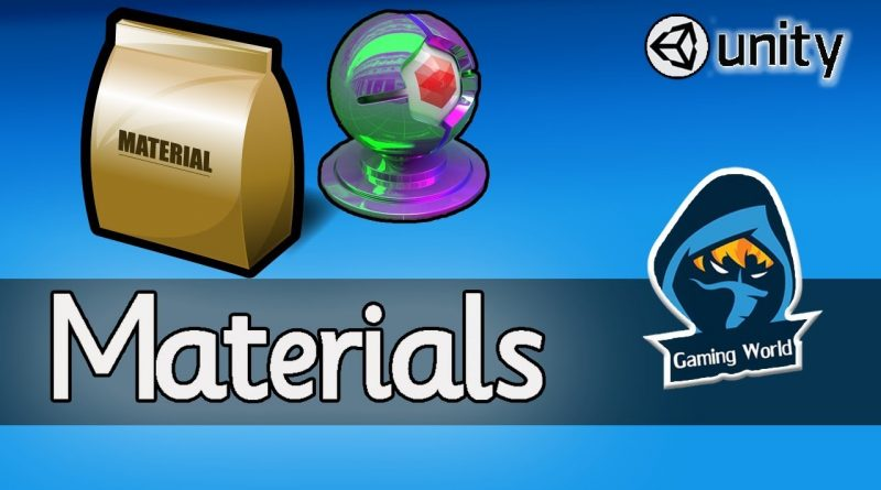 How to add Materials,Textures,Shaders in Unity |Beginner Tutorials| Game Development Course