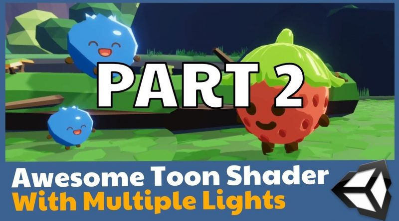 Unity Toon shader in Shader Graph with multiple lights! - PART 2