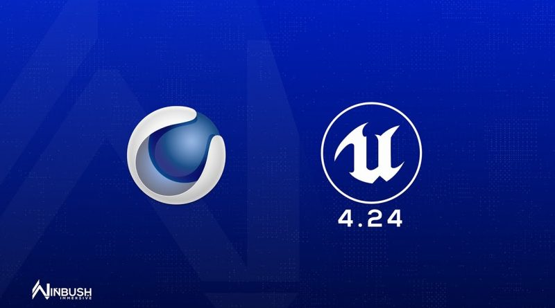 Unreal Engine 4.24 Enable the C4D Datasmith Plugin for importing your scenes