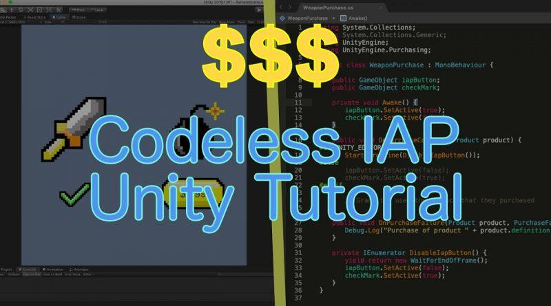 Learn Codeless IAP | Unity Tutorial